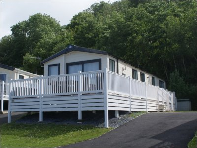 Moselle Luxury Lodge Caravan