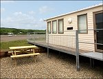 Y Gragen Caravan on the Teifi - Click here for more information - prices etc.